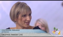 """2-Costanza ospite a """"Cristina Parodi live"""" 14 dicembre 2012"""