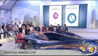 """3-Costanza ospite a """"Cristina Parodi live"""" 14 dicembre 2012"""