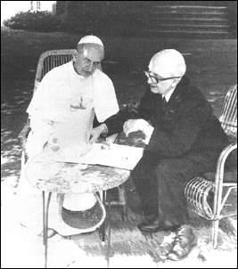Jean Guitton e PaoloVI