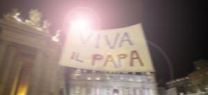 viva il papa