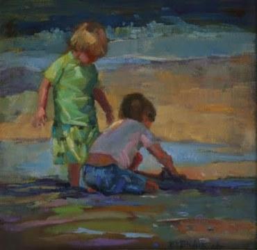 Little Boys at the Beach