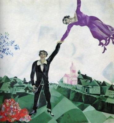 Marc Chagall - Passeggiata 1917