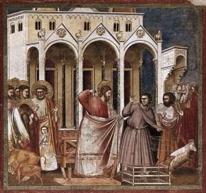 Giotto_di_Bondone_-_No._27_Scenes_from_the_Life_of_Christ_-_11._Expulsion_of_the_Money-changers_from_the_Temple_-_WGA09209