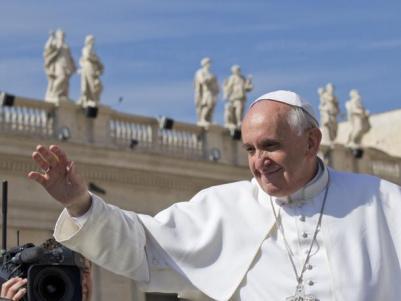 Udienza generale del Papa in Piazza San Pietro
