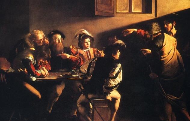 Caravaggio - Vocazione di san Matteo